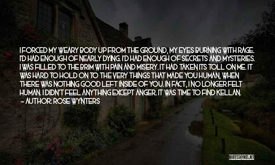 Rage Filled Quotes By Rose Wynters