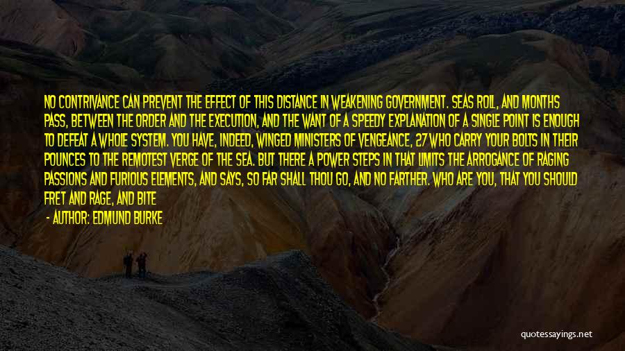 Raging Sea Quotes By Edmund Burke