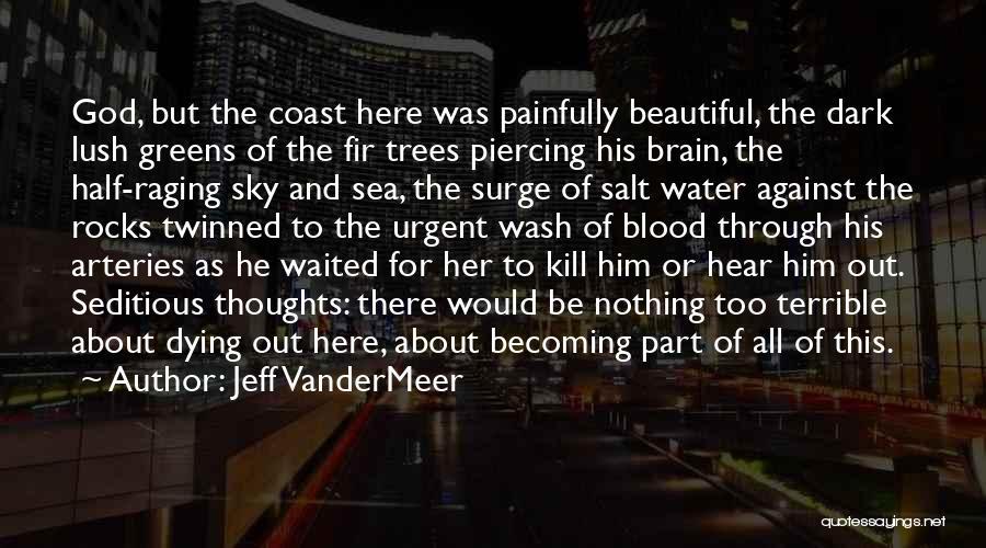 Raging Sea Quotes By Jeff VanderMeer