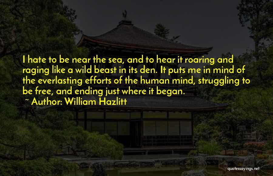 Raging Sea Quotes By William Hazlitt
