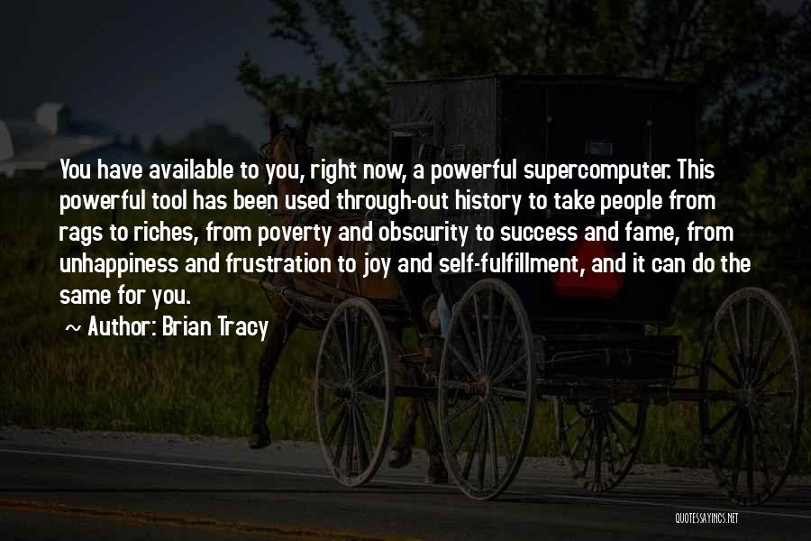 Rags To Riches Quotes By Brian Tracy