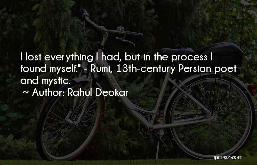 Rahul Deokar Quotes 1047838