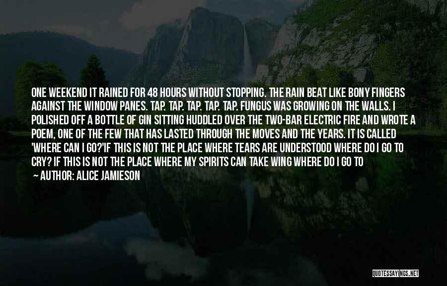 Rain And Sadness Quotes By Alice Jamieson