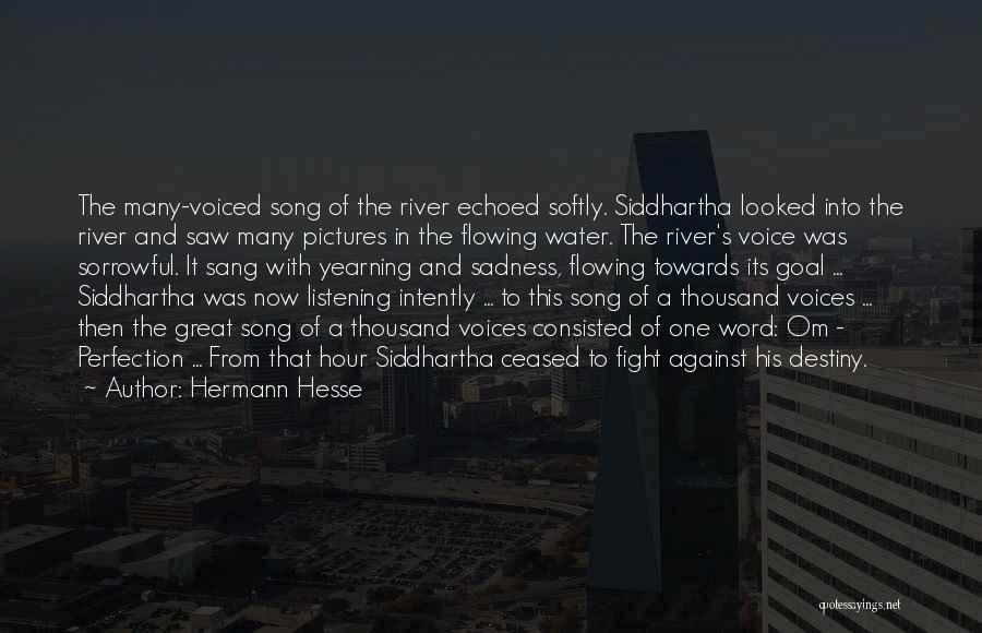 Rain And Sadness Quotes By Hermann Hesse