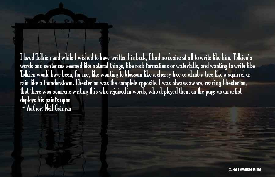 Rain And Thunderstorm Quotes By Neil Gaiman