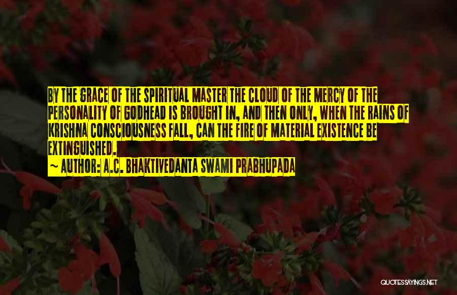 Rain Cloud Quotes By A.C. Bhaktivedanta Swami Prabhupada
