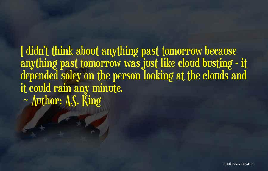 Rain Cloud Quotes By A.S. King