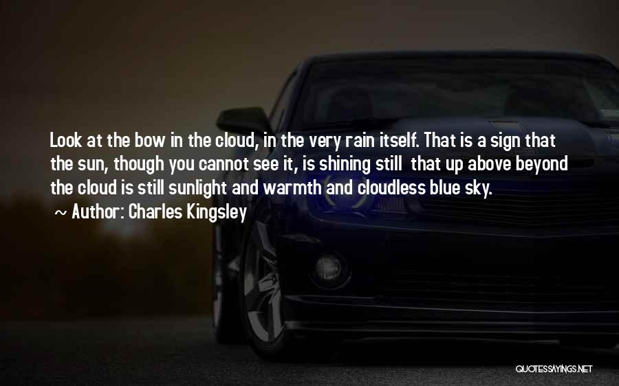 Rain Cloud Quotes By Charles Kingsley