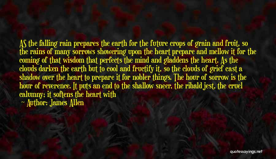 Rain Cloud Quotes By James Allen