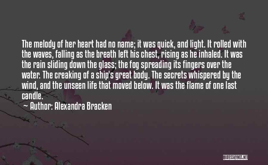Rain Falling Down Quotes By Alexandra Bracken