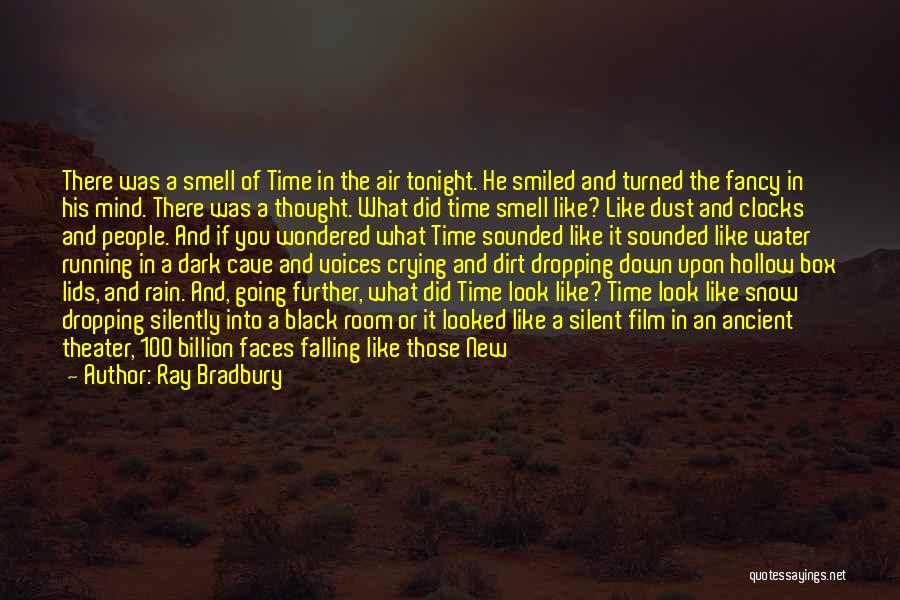 Rain Falling Down Quotes By Ray Bradbury