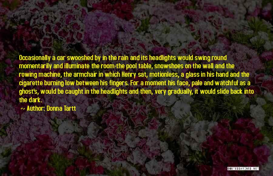 Rain In The Face Quotes By Donna Tartt