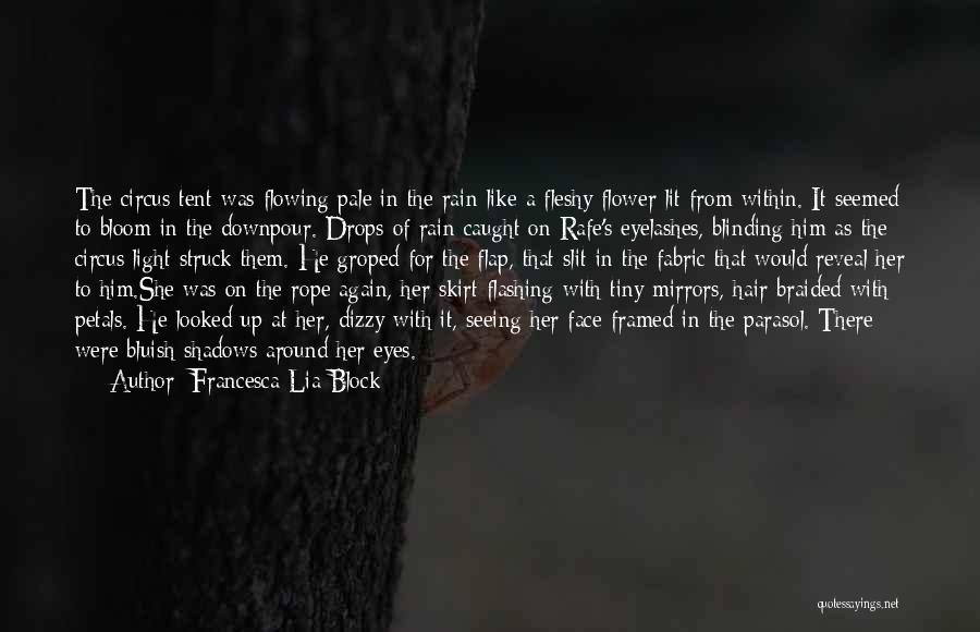 Rain In The Face Quotes By Francesca Lia Block