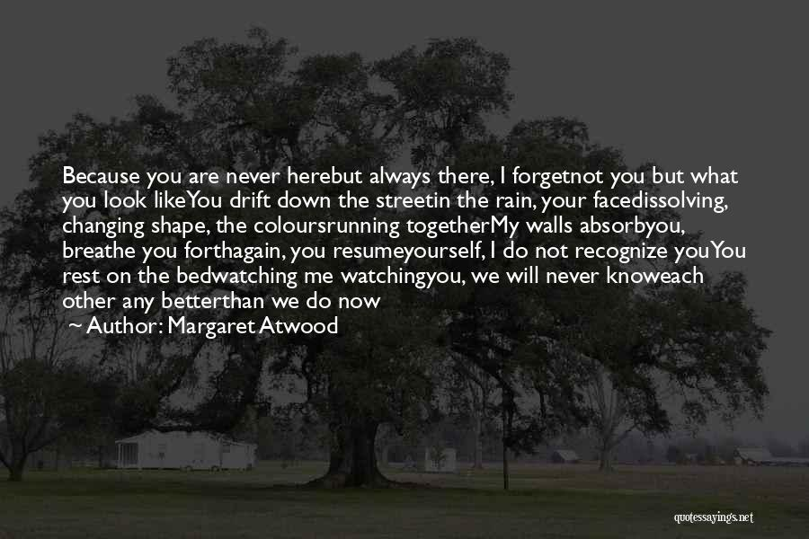 Rain In The Face Quotes By Margaret Atwood