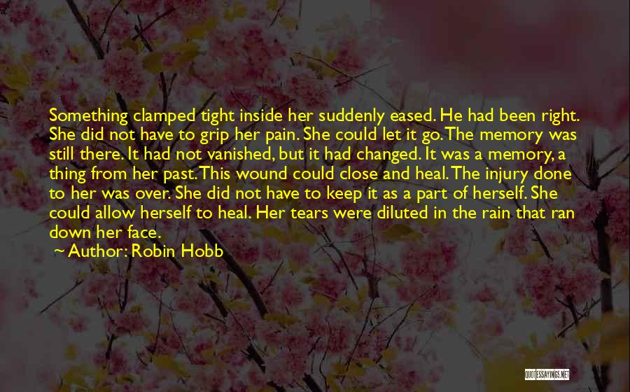 Rain In The Face Quotes By Robin Hobb
