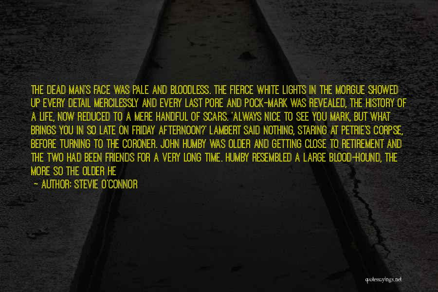 Rain In The Face Quotes By Stevie O'Connor