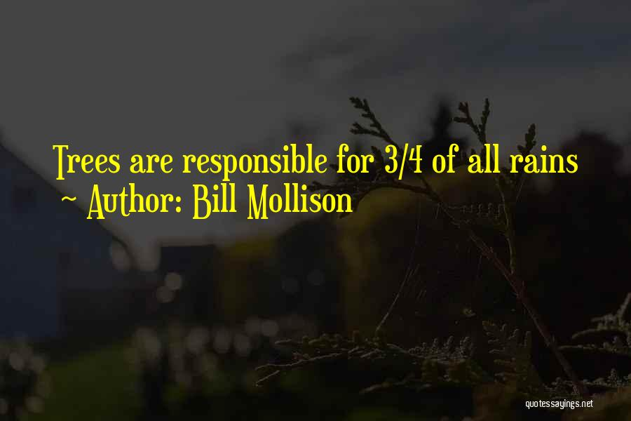 Rain Tree Quotes By Bill Mollison