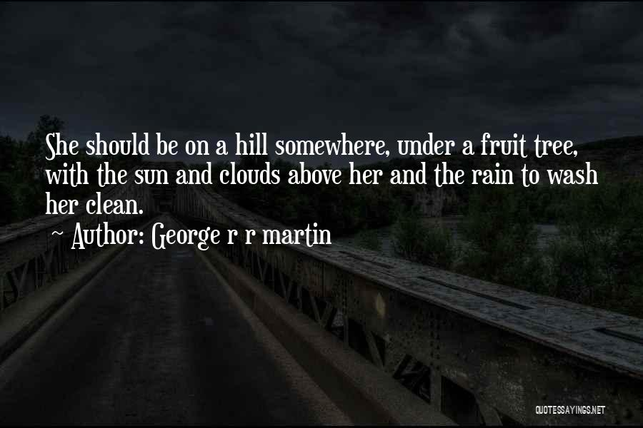 Rain Tree Quotes By George R R Martin