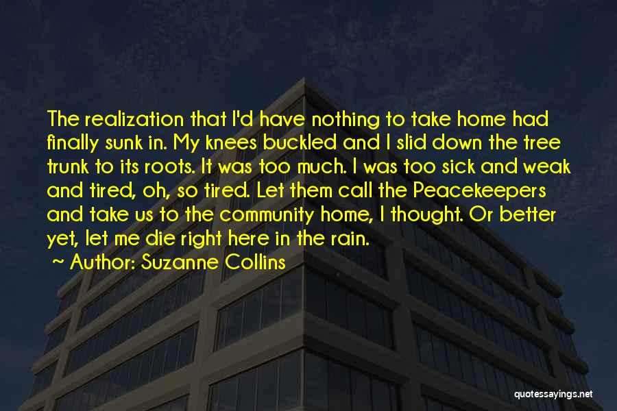 Rain Tree Quotes By Suzanne Collins