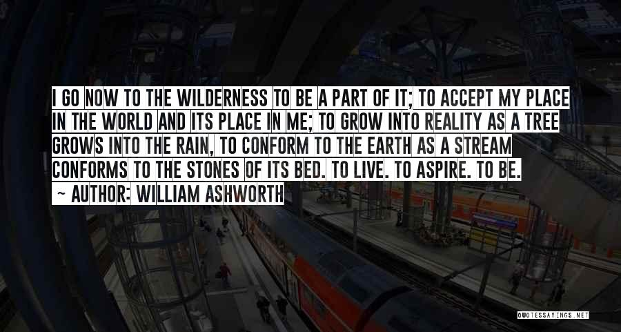 Rain Tree Quotes By William Ashworth