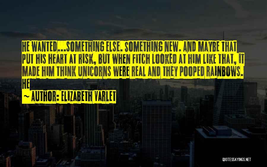 Rainbows Quotes By Elizabeth Varlet