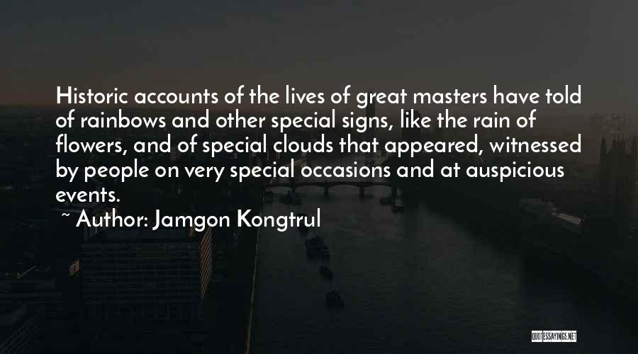Rainbows Quotes By Jamgon Kongtrul