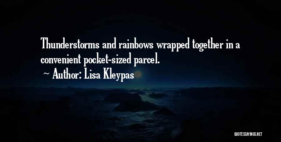 Rainbows Quotes By Lisa Kleypas