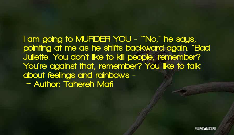 Rainbows Quotes By Tahereh Mafi