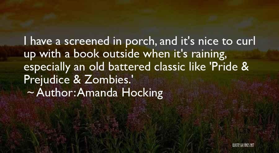 Raining Outside Quotes By Amanda Hocking