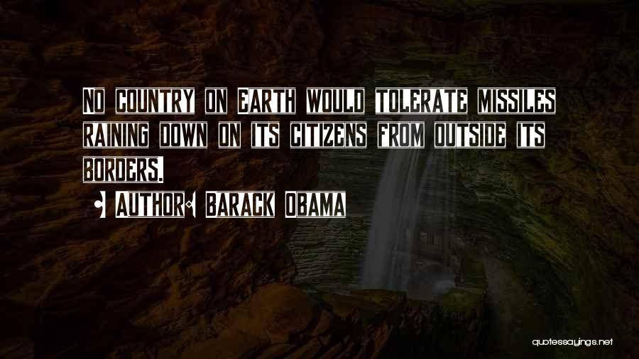 Raining Outside Quotes By Barack Obama