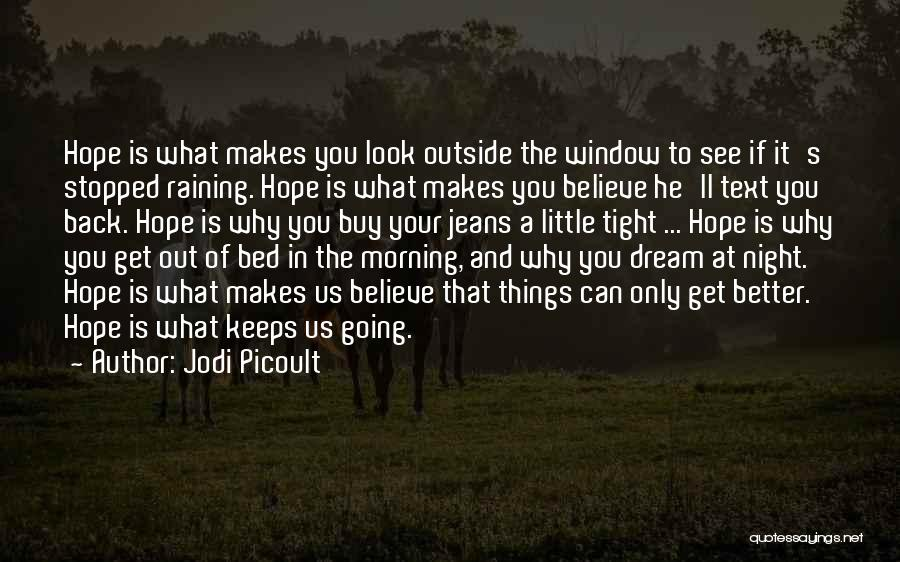 Raining Outside Quotes By Jodi Picoult