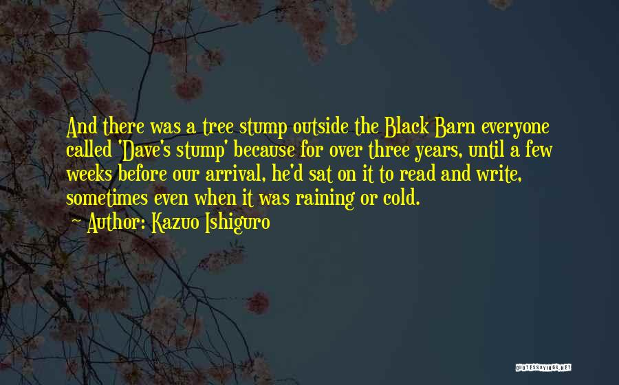 Raining Outside Quotes By Kazuo Ishiguro