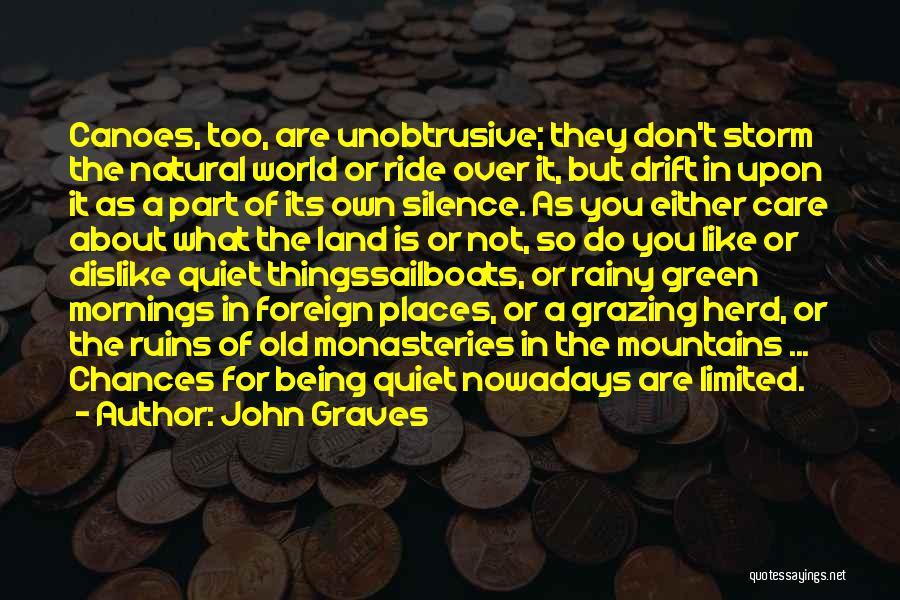 Rainy Morning Quotes By John Graves