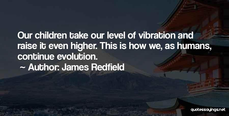 Raise Your Vibration Quotes By James Redfield