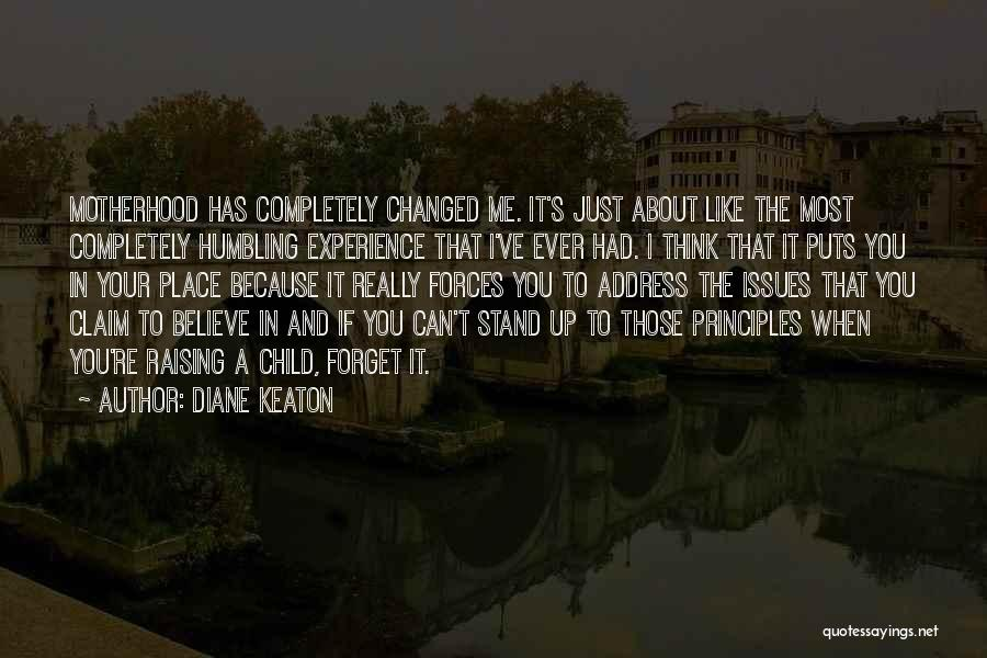 Raising A Child Quotes By Diane Keaton