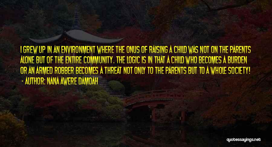 Raising A Child Quotes By Nana Awere Damoah