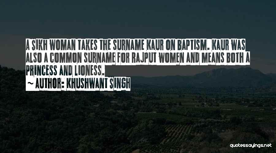 Rajput Best Quotes By Khushwant Singh