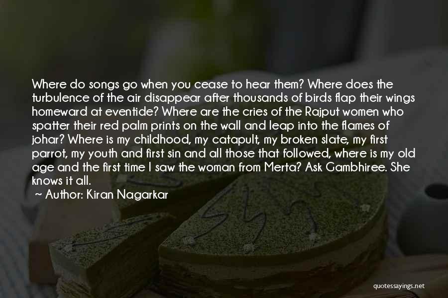Rajput Best Quotes By Kiran Nagarkar