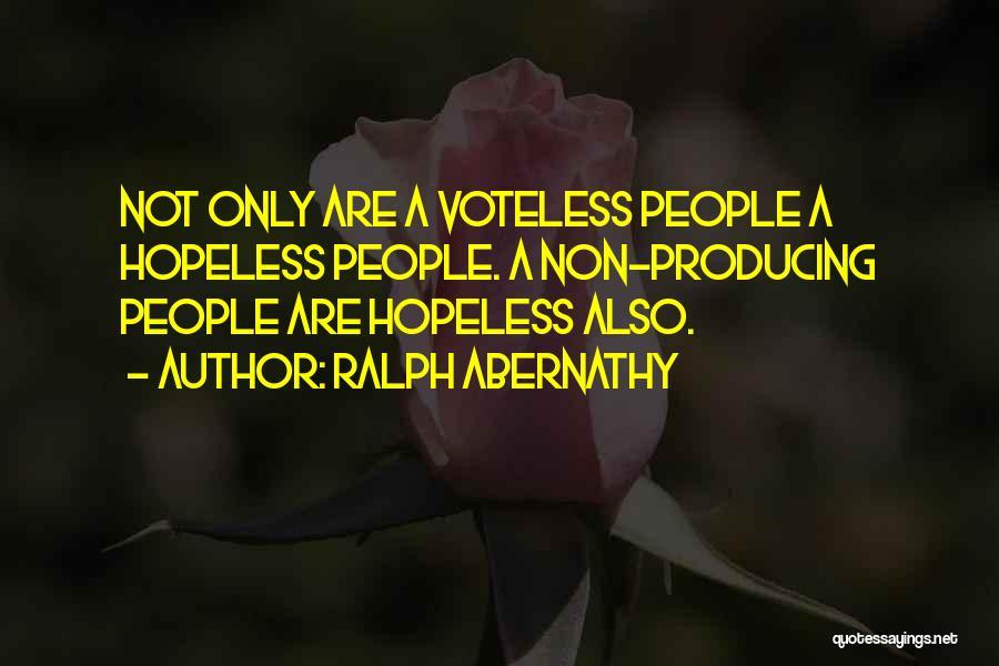 Ralph Abernathy Quotes 1786803