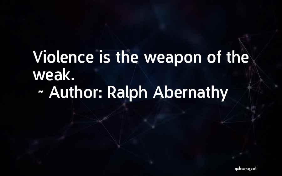 Ralph Abernathy Quotes 573690