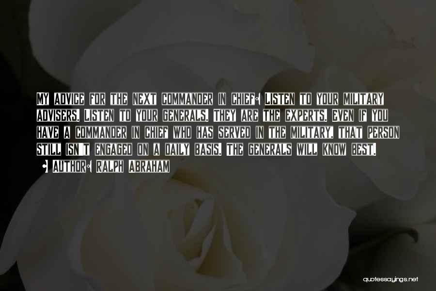 Ralph Abraham Quotes 224133