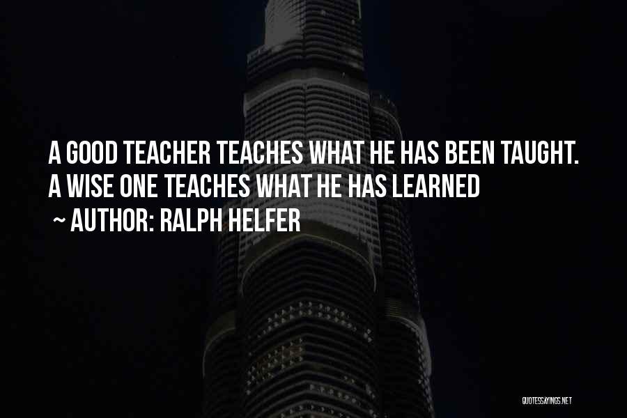 Ralph Helfer Quotes 2047547