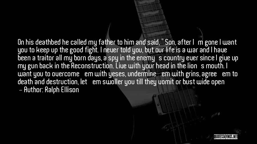 Ralph Mouth Quotes By Ralph Ellison