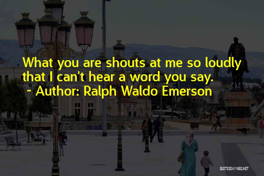 Ralph Waldo Emerson Quotes 706810