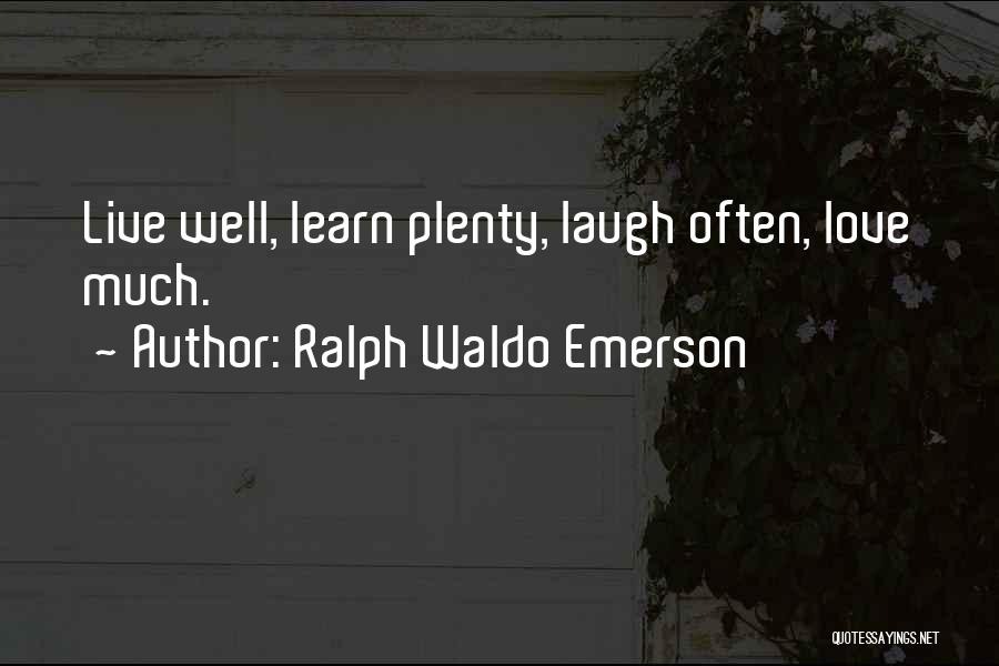 Ralph Waldo Emerson Quotes 975633