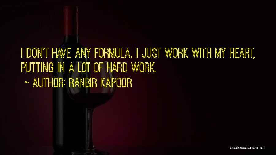 Ranbir Kapoor Quotes 1107675