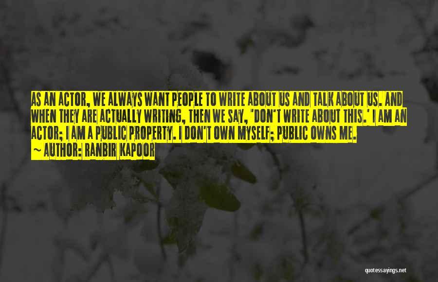 Ranbir Kapoor Quotes 453889