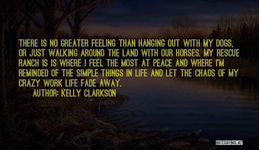 Ranch Dogs Quotes By Kelly Clarkson