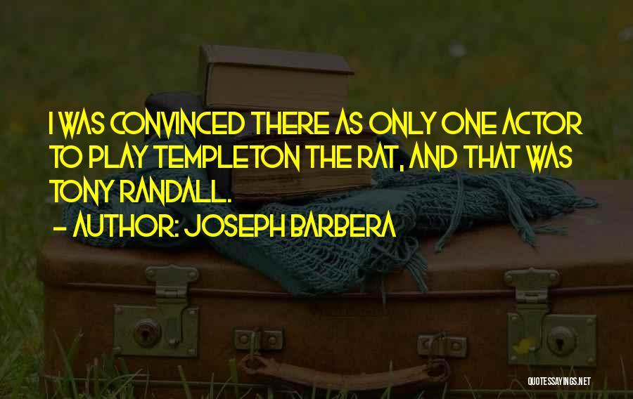 Randall Quotes By Joseph Barbera