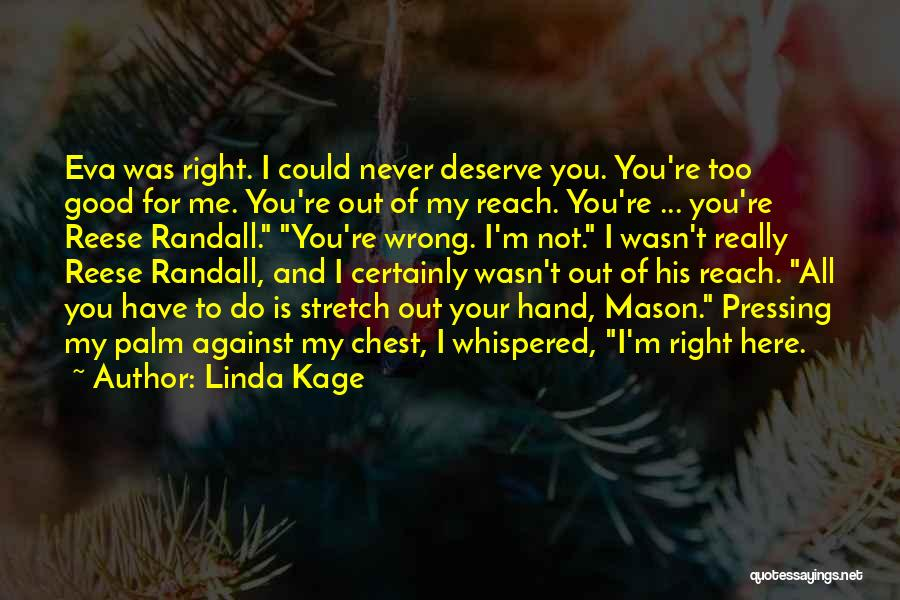 Randall Quotes By Linda Kage